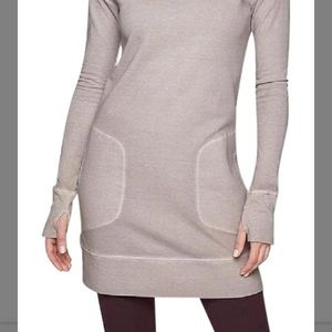 c3bf971dd00 Athleta Dresses - Athleta Eco wash Turtleneck Sweatshirt Dress